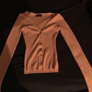 Small Orange cardigan from outfitters